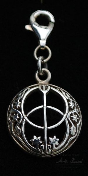 Avalon Charm-Anhänger | 925er Silber
